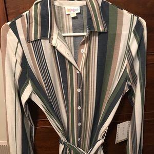 XXS LuLaRoe Ellie Shirt dress
